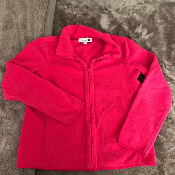 Forever 21 Sweaters - Forever 21 Hot Pink Sweater